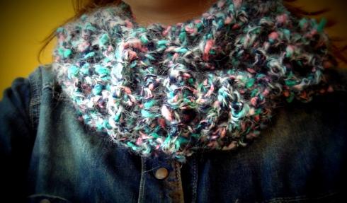 Experiências em Crochet #1: Gola