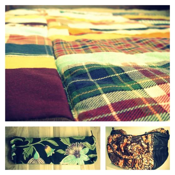 Reciclagem #5: Mantas de Farrapos e afins